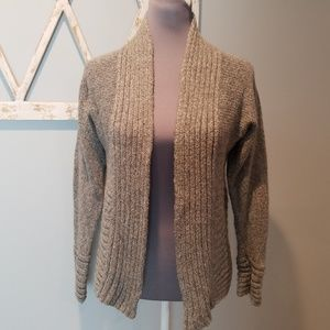 open front cardigan sweater PS